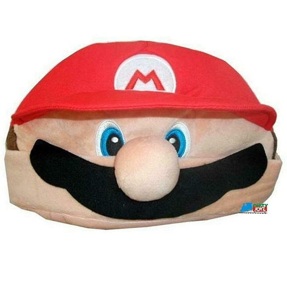 Nintendo Other - Mario Funny Plush Beanie Hat Cap Cosplay